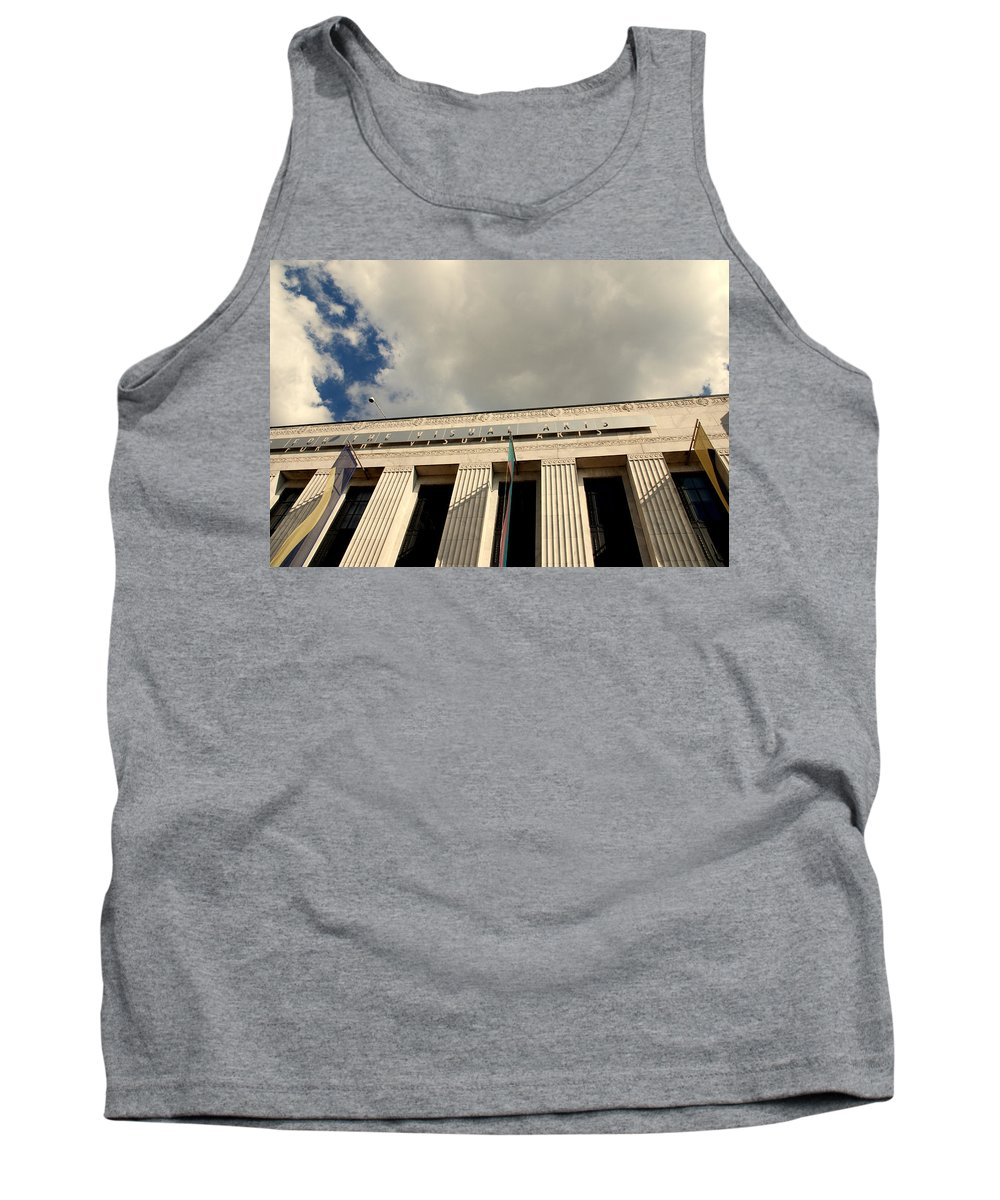 Frist Center For The Visual Arts Tank Top featuring the photograph Frist Center For The Visual Art In Nashville Tn by Susanne Van Hulst
