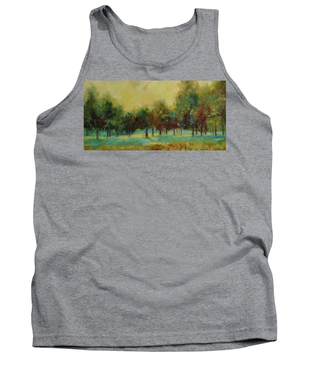 Pastoral Tank Top featuring the painting From The Other Side II by Ginger Concepcion