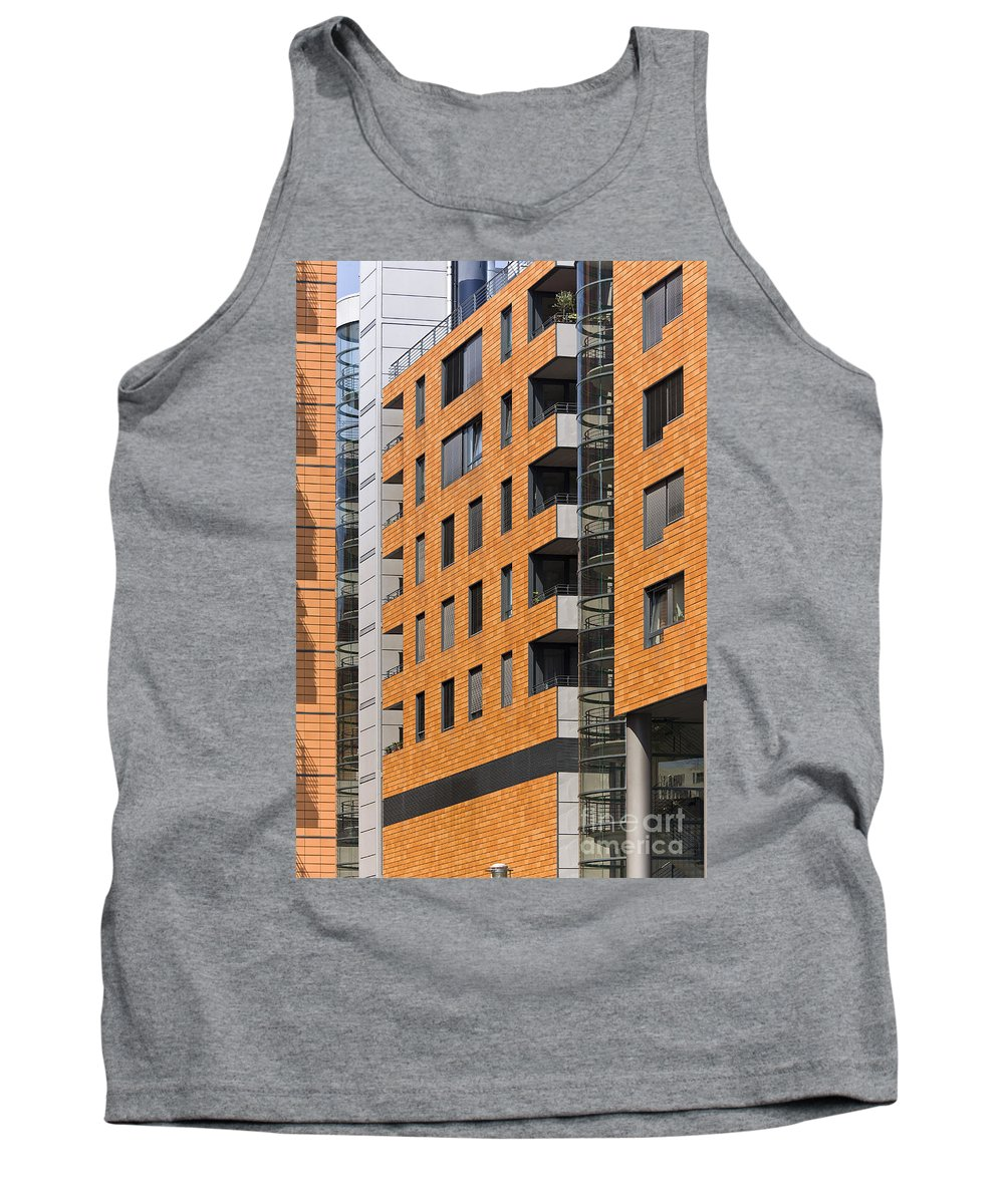 Europe Tank Top featuring the photograph Frontage by Heiko Koehrer-Wagner