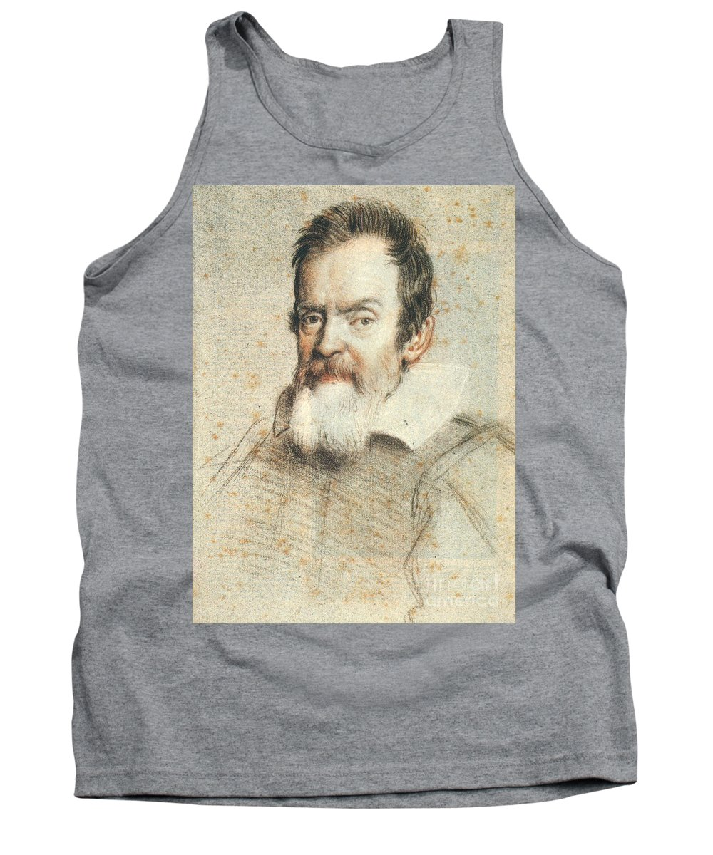 1624 Tank Top featuring the photograph Galileo Galilei by Granger