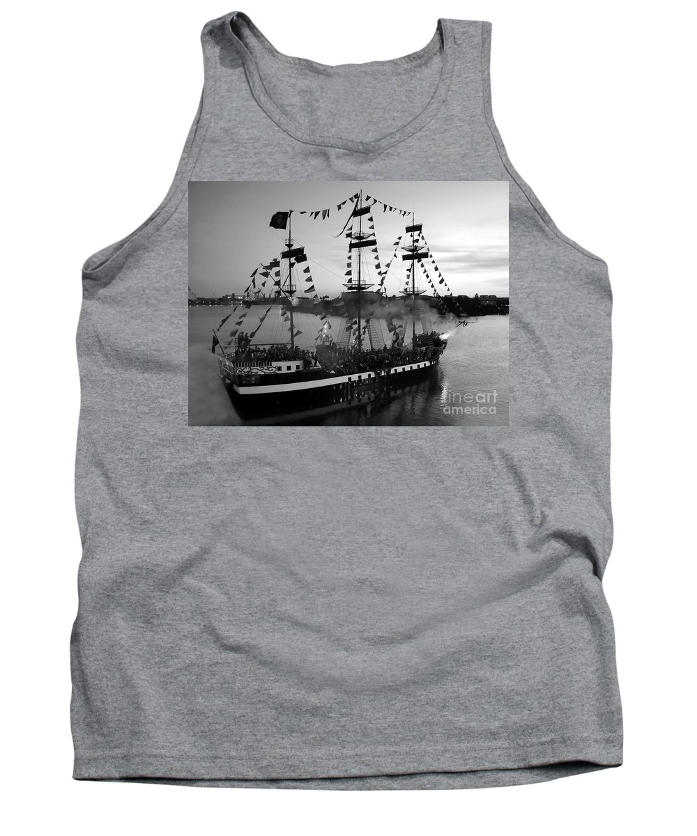Pirates Tank Top featuring the photograph Gang Of Pirates by David Lee Thompson