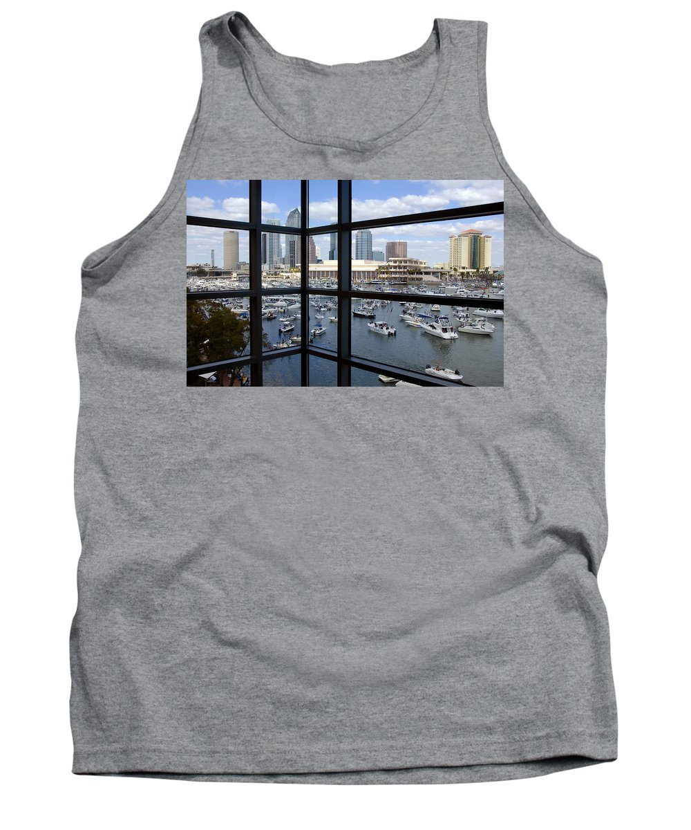 Gasparilla Tank Top featuring the photograph Gasparilla Invasion by David Lee Thompson