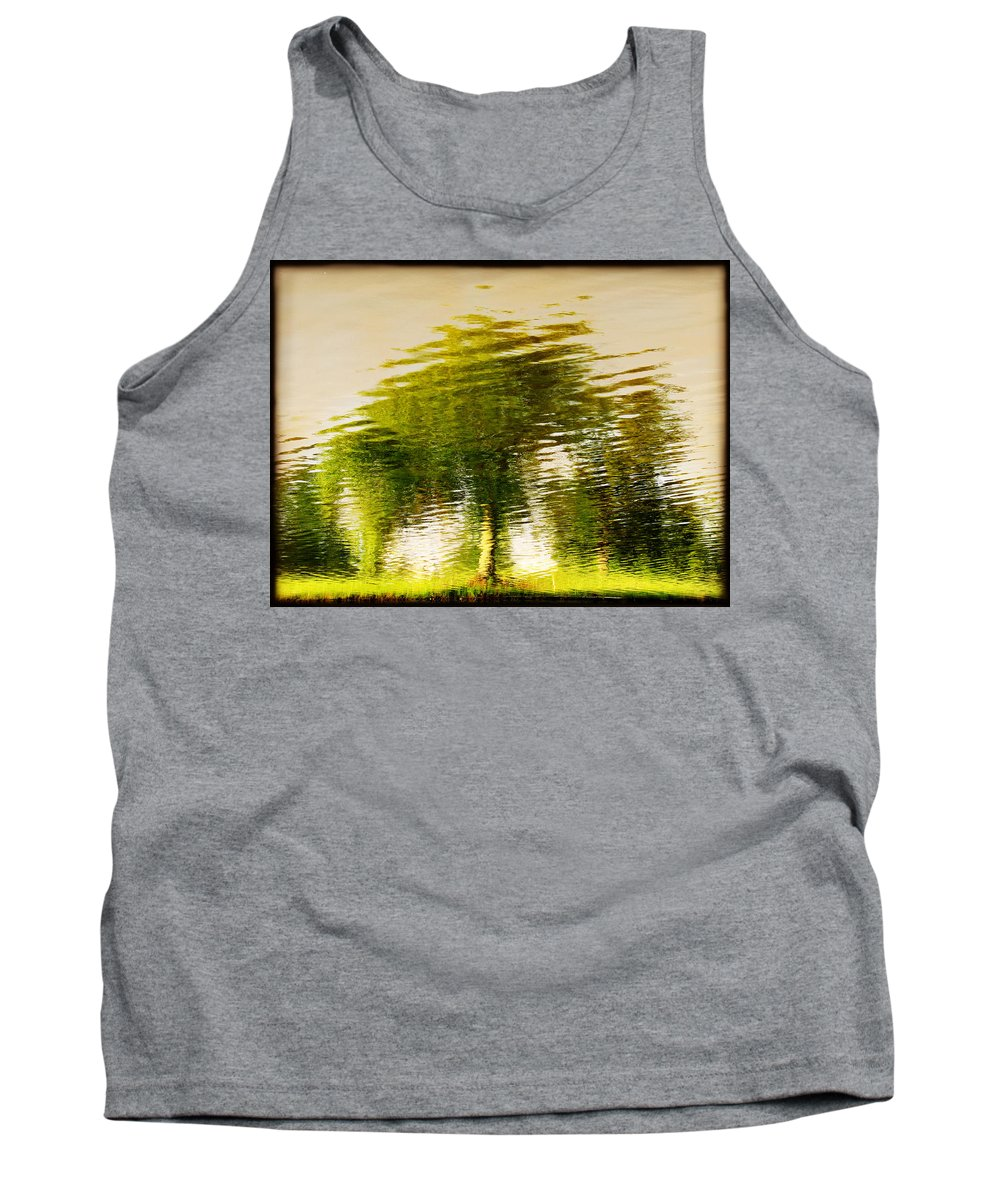 Abstract Tank Top featuring the photograph Gentle Sun by Dana DiPasquale