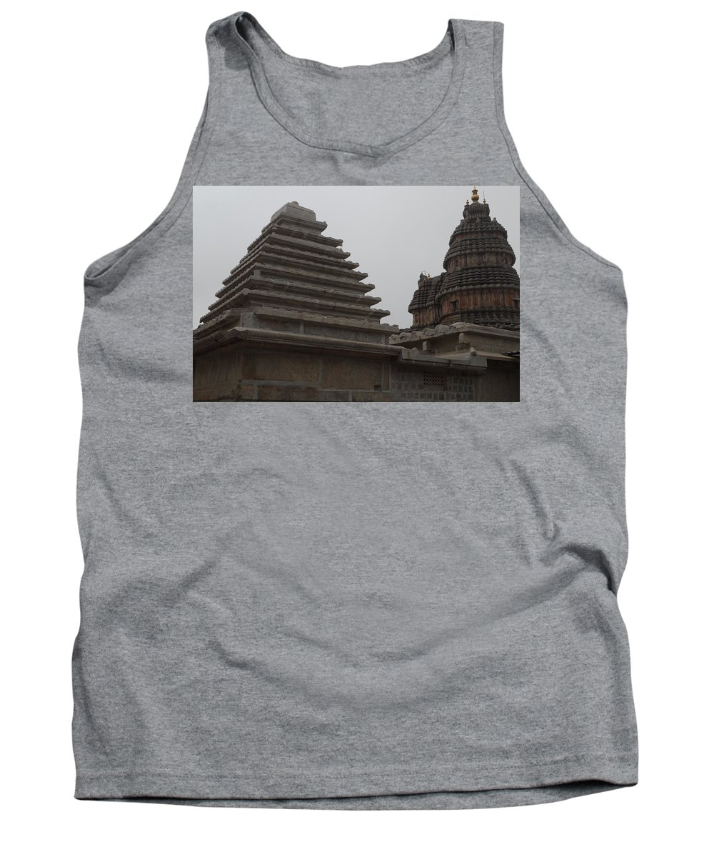 Architecture Tank Top featuring the photograph Geometry by Satish Kumar