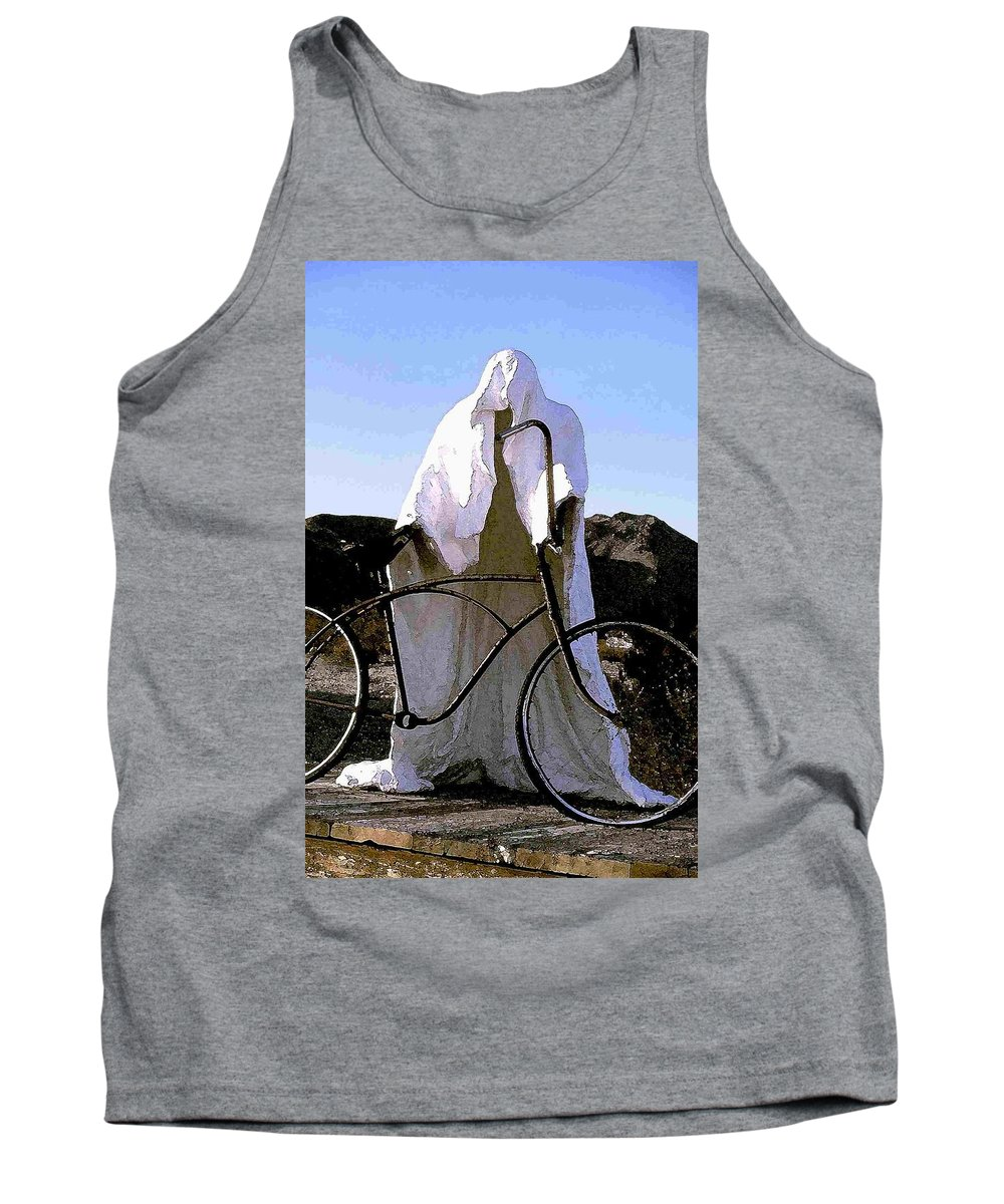 Ghost Tank Top featuring the photograph Ghost Rider by Nelson Strong