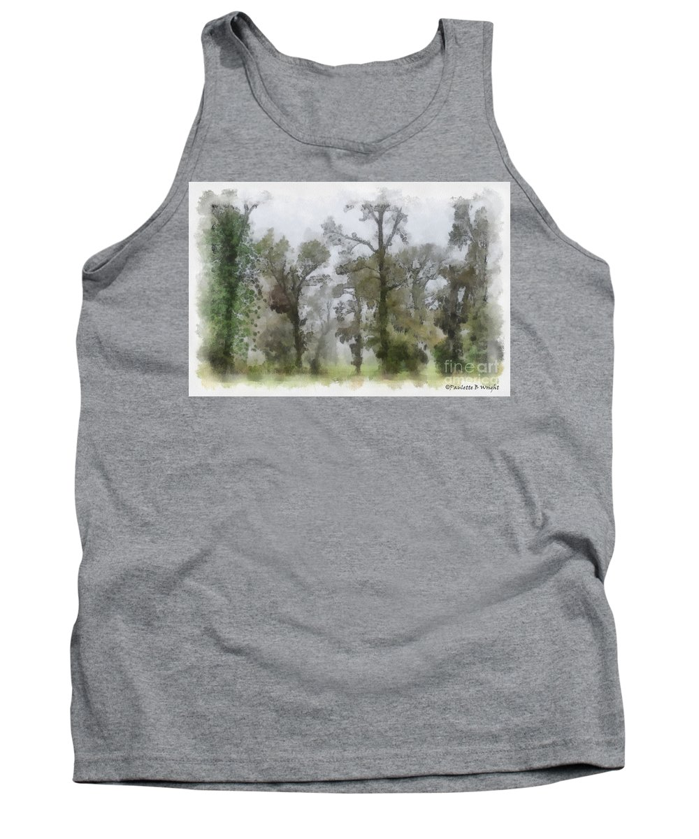 Ghost Tank Top featuring the photograph Ghostly Images by Paulette B Wright