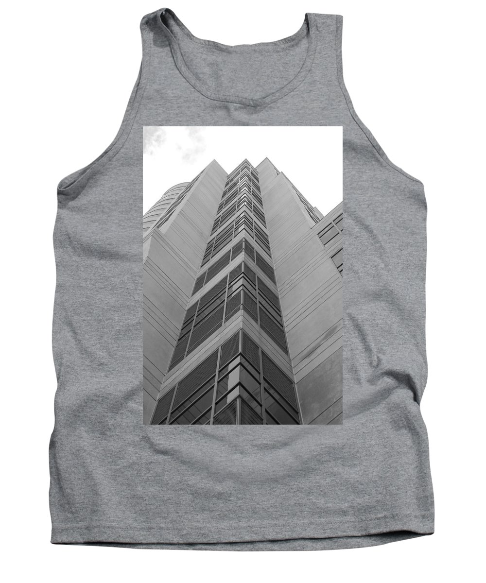 Architecture Tank Top featuring the photograph Glass Tower by Rob Hans