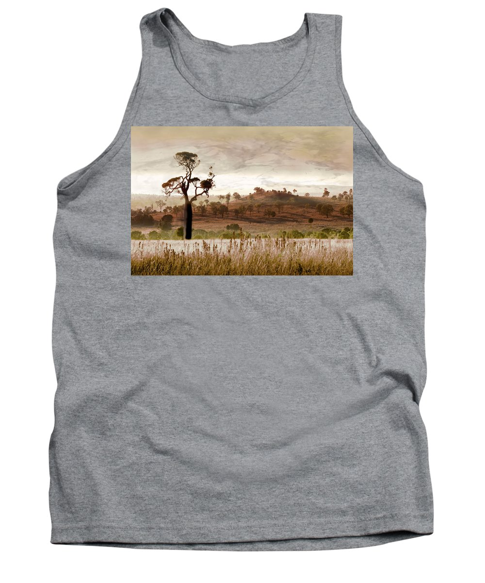Landscapes Tank Top featuring the photograph Gondwana Boab by Holly Kempe
