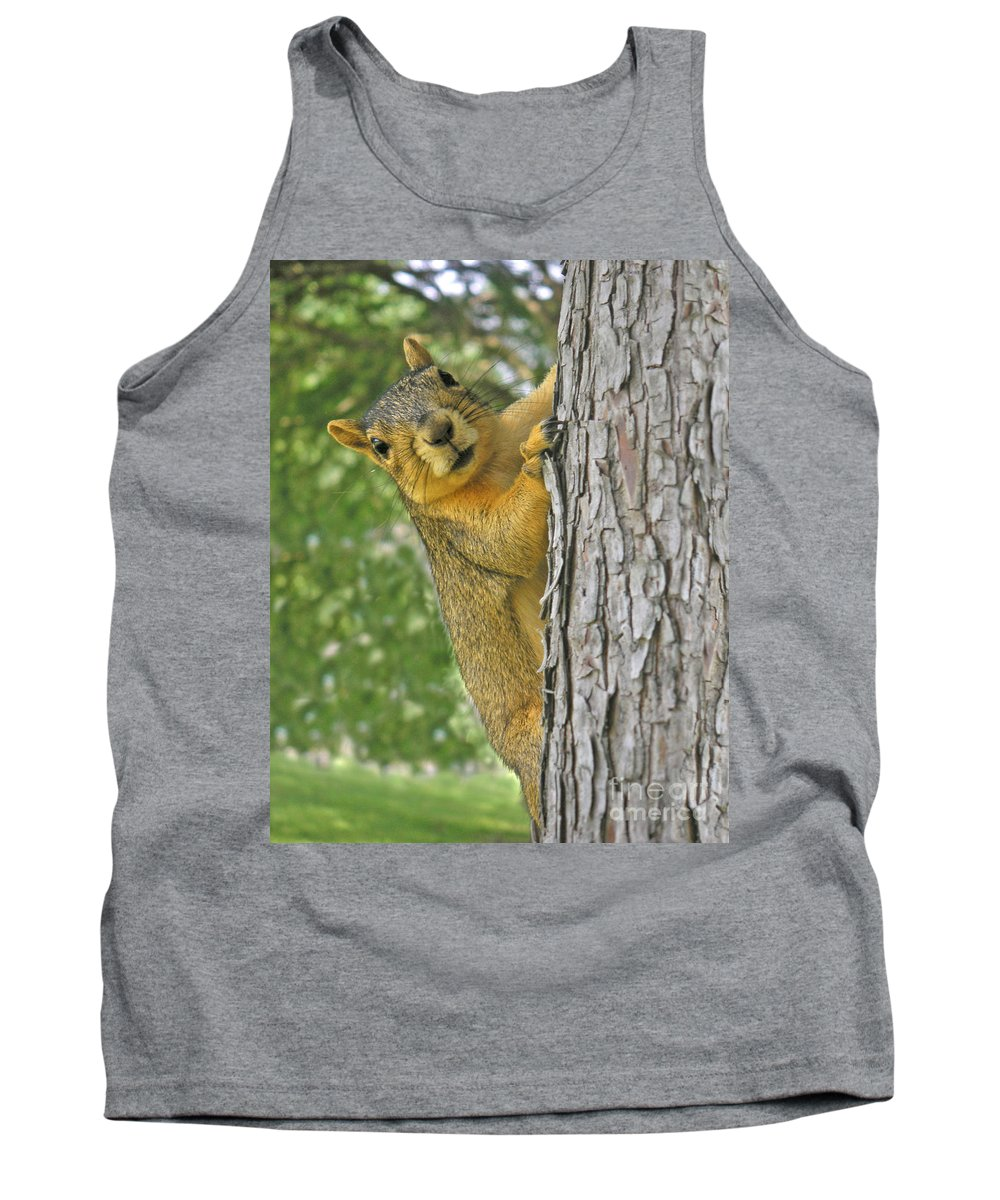 Nature Tank Top featuring the photograph Good Morning by Lucyna A M Green