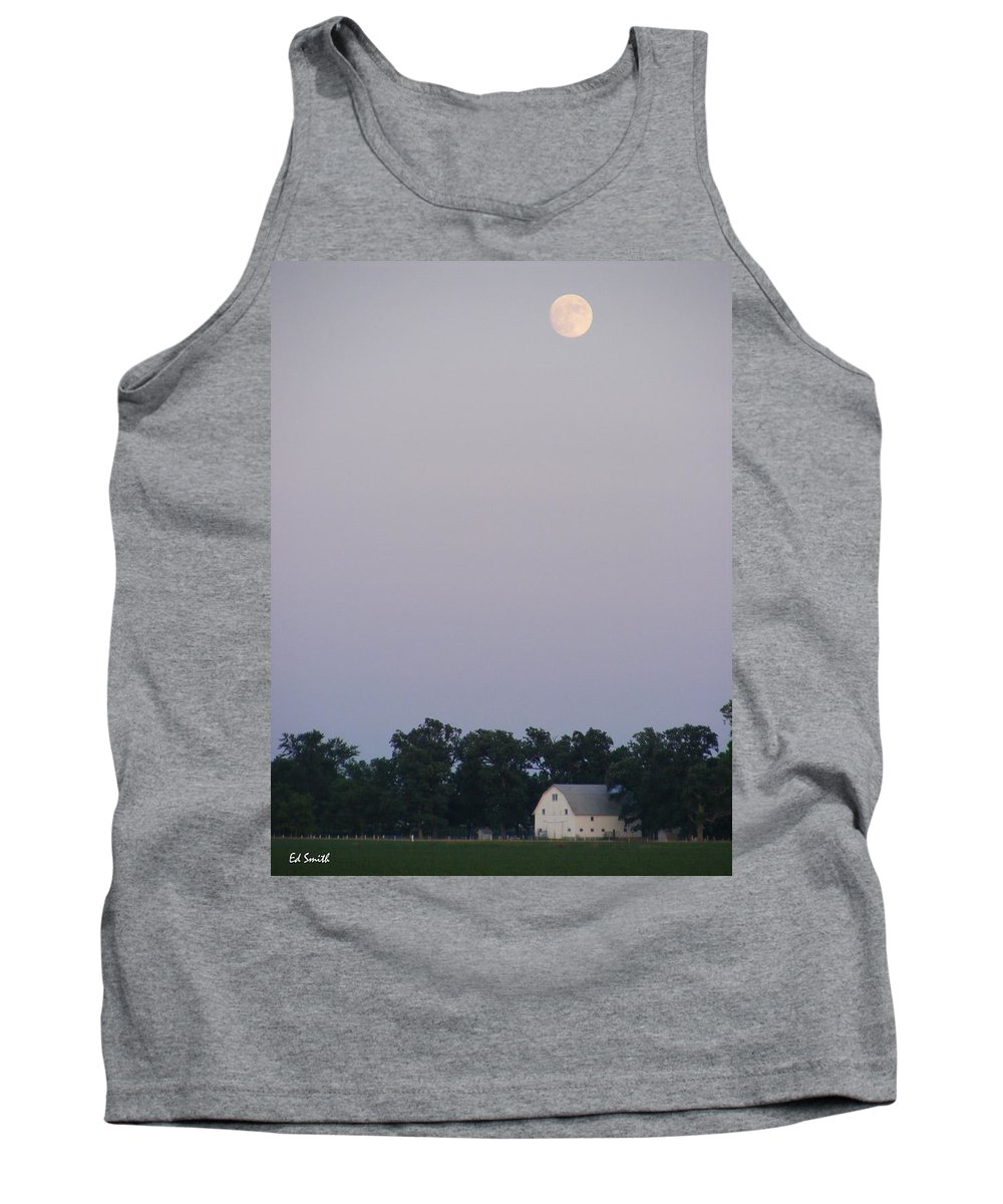 Good Night John Boy Tank Top featuring the photograph Good Night John Boy by Ed Smith