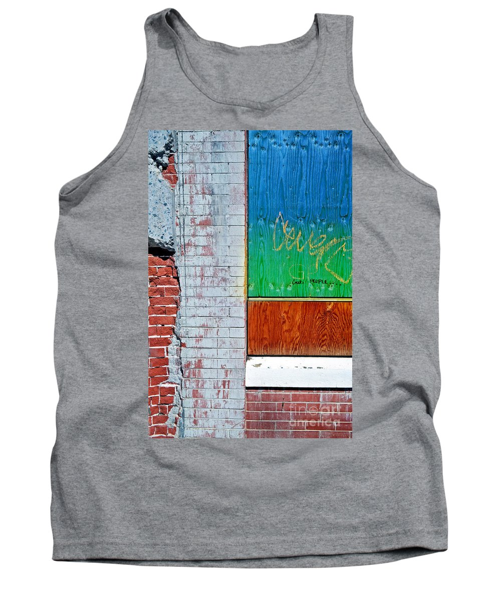 Good Tank Top featuring the photograph Good People by Tara Turner