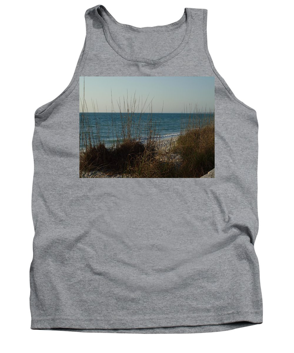 Florida Beaches Tank Top featuring the photograph Goodbye Cruel World by Robert Margetts