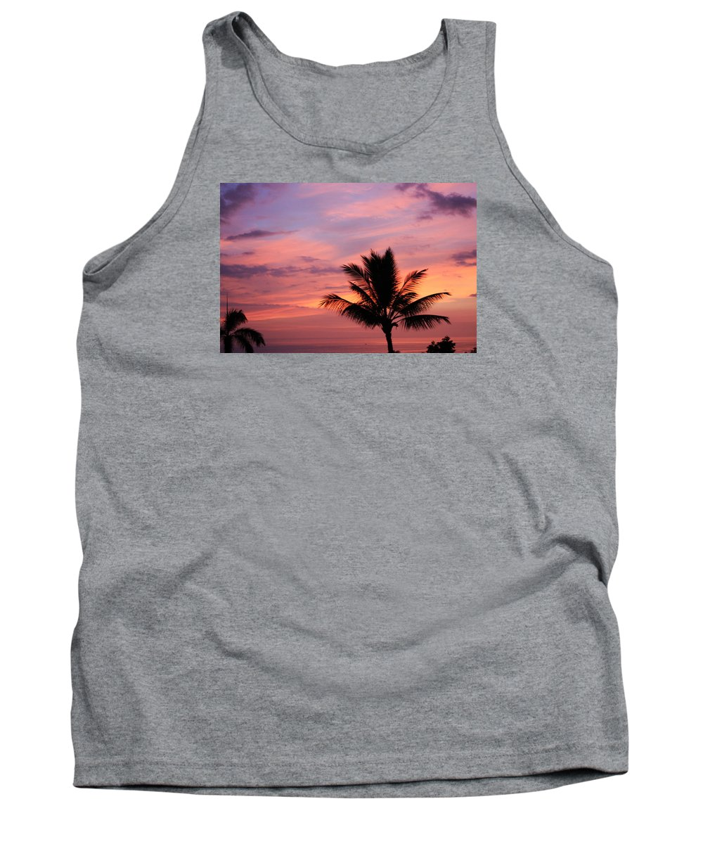 Sunsets Tank Top featuring the photograph Gorgeous Hawaiian Sunset - 1 by Karen Nicholson