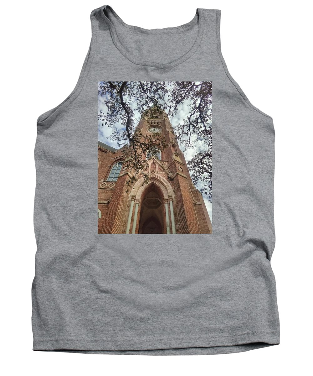 Old Church Tank Top featuring the photograph Gothica Omega by James Maloney