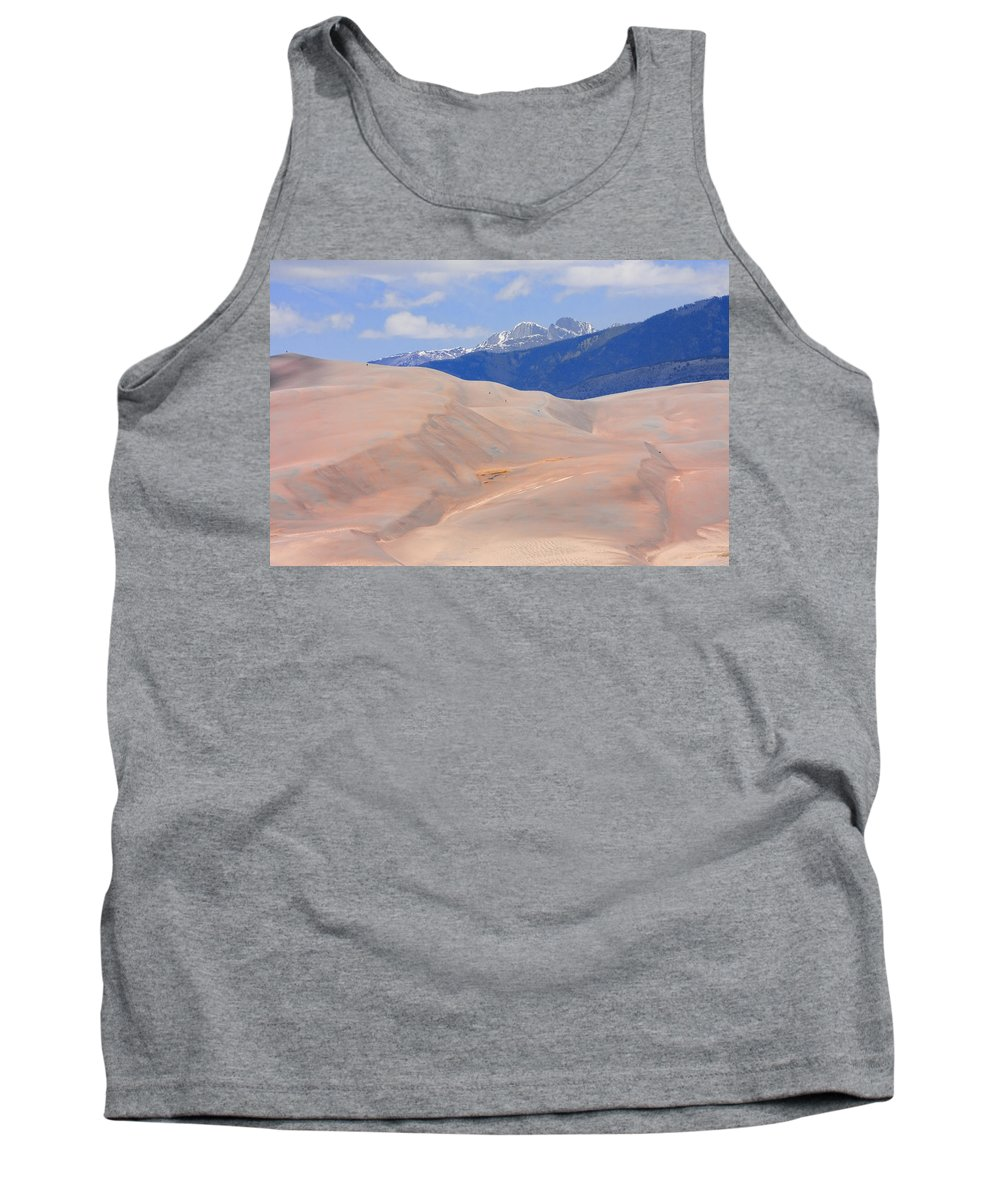 the Great Colorado Sand Dunes Tank Top featuring the photograph Great Colorado Sand Dunes by James BO Insogna