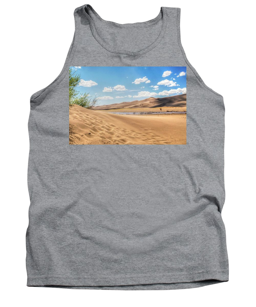Great Sand Dunes National Park Tank Top featuring the photograph Great Sand Dunes by Terry Jackson