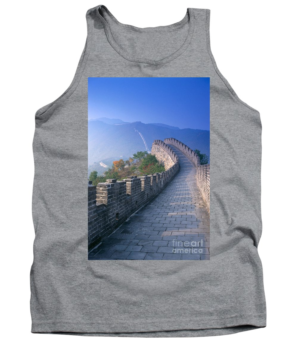 Asian Art Tank Top featuring the photograph Great Wall Of China by Gloria and Richard Maschmeyer - Printscapes