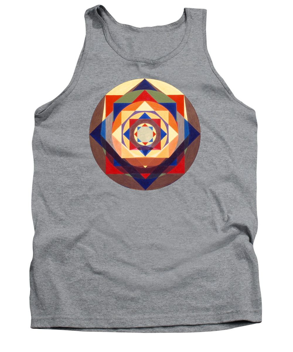 Painting Tank Top featuring the painting Growth by Michael Bellon