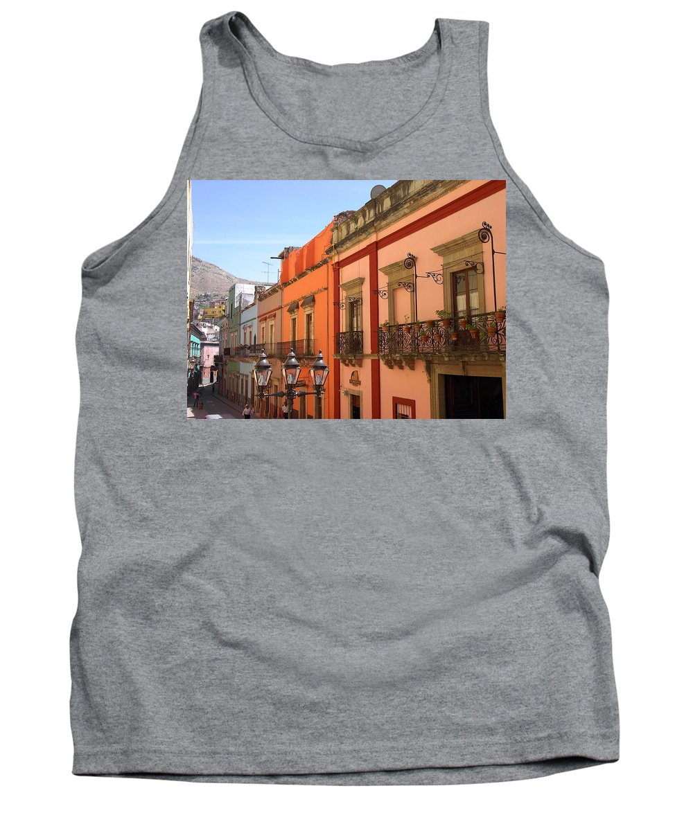 Charity Tank Top featuring the photograph Guanajuato by Mary-Lee Sanders