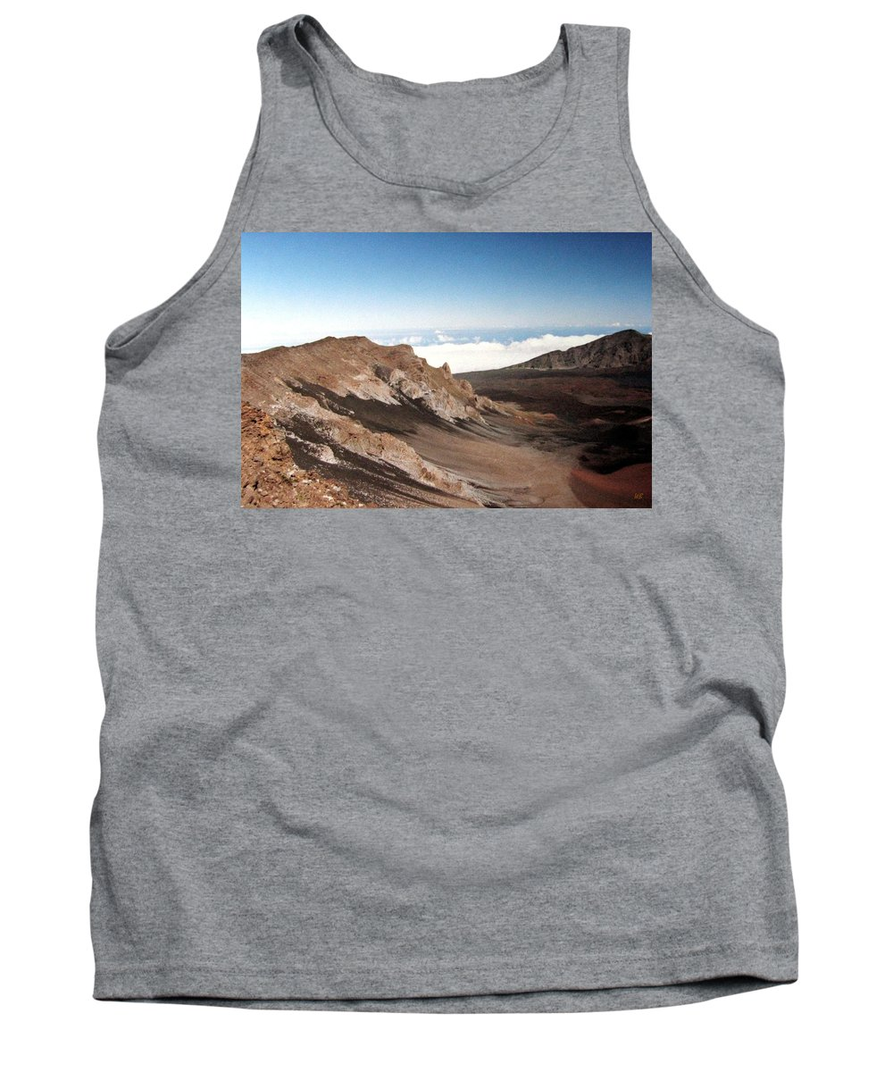 1986 Tank Top featuring the photograph Haleakala Crater by Will Borden