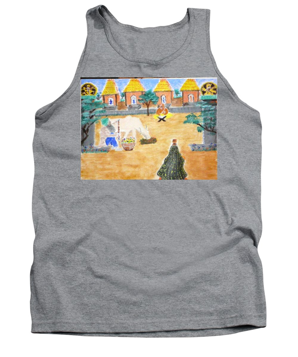 Tank Top featuring the painting Harmony by R B