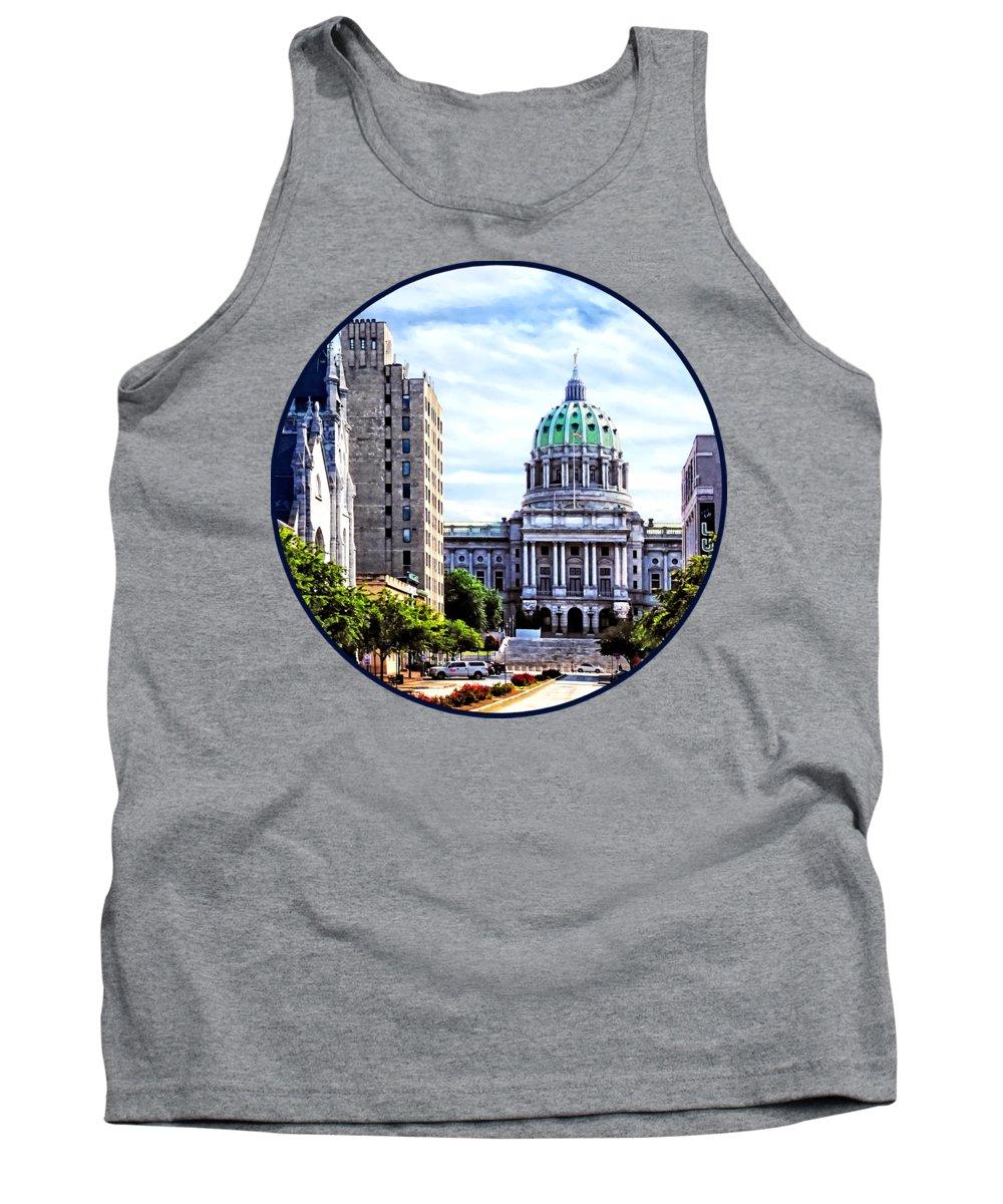 Capitol Building Tank Tops