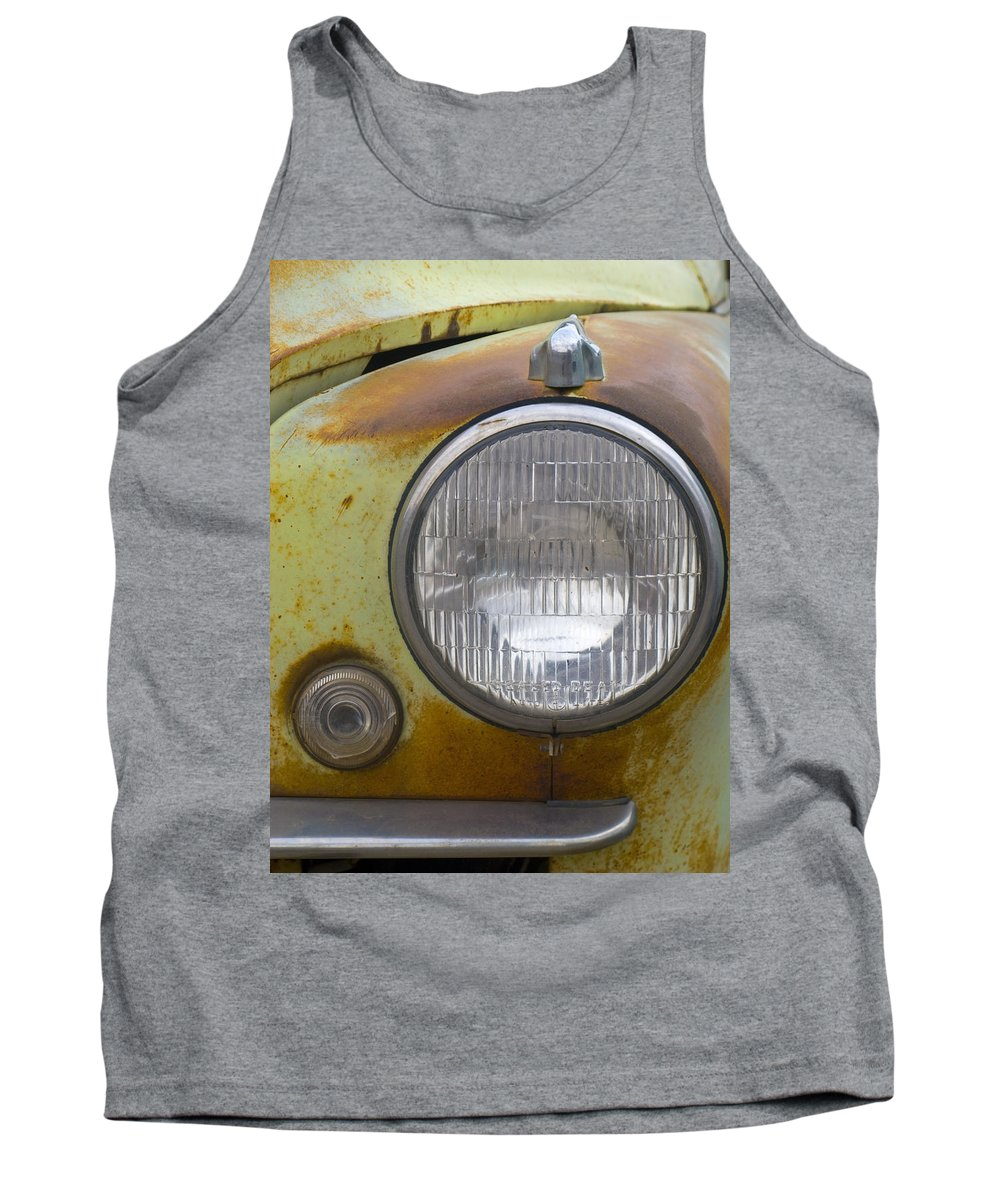 Vintage Tank Top featuring the photograph Head Light by Jeffery Ball