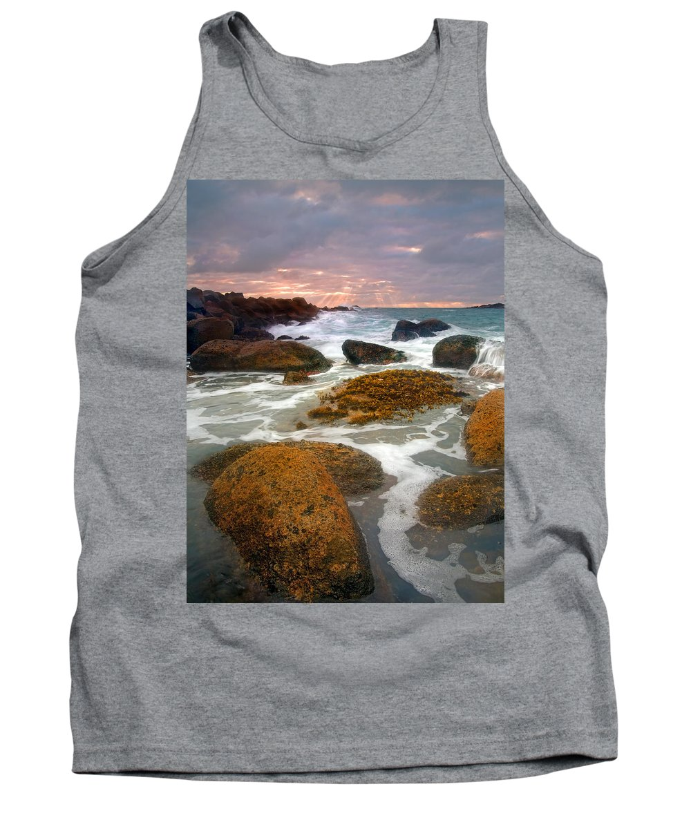 Sunrise Tank Top featuring the photograph Heavenly Dawning by Mike Dawson