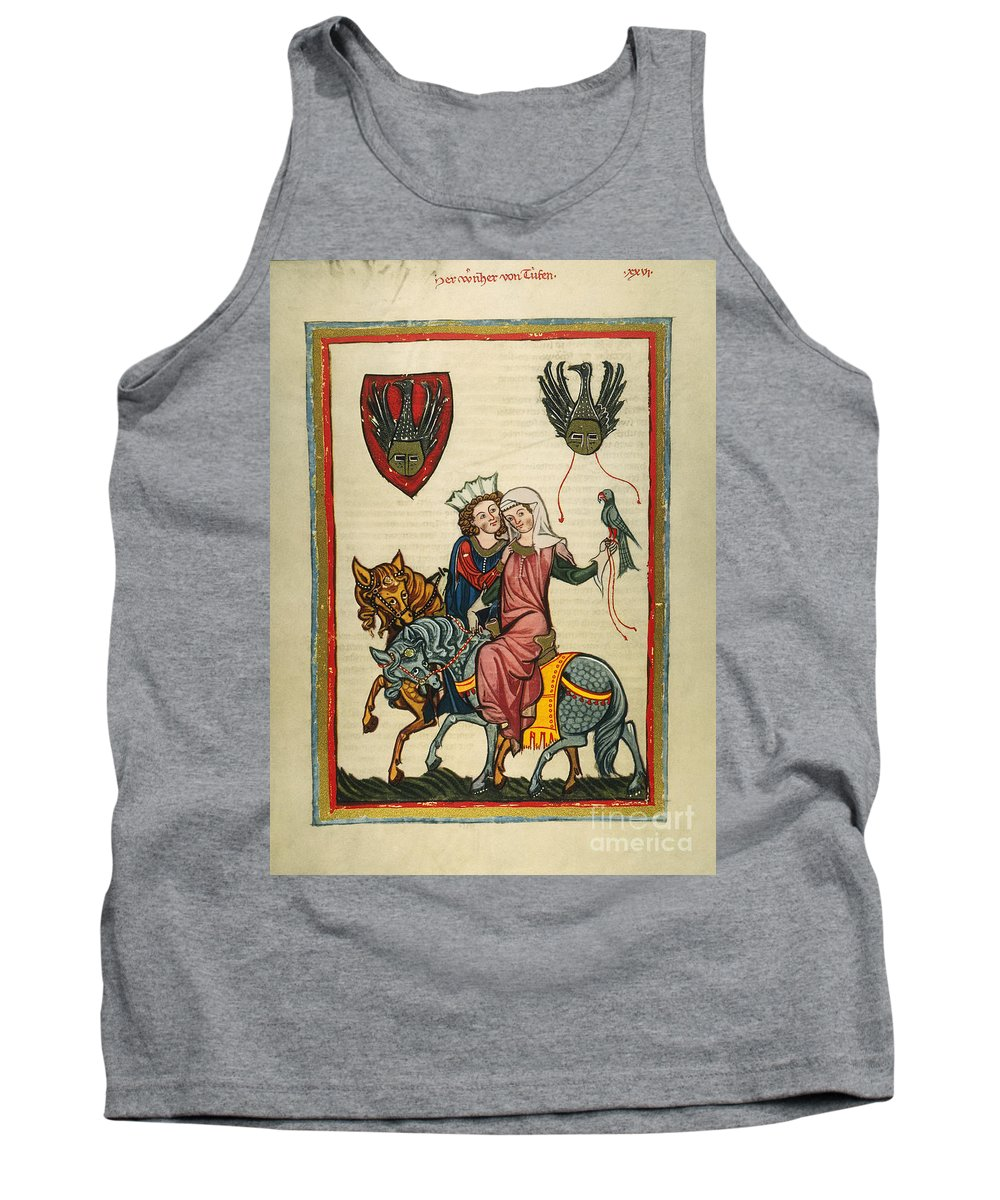 14th Century Tank Top featuring the photograph Heidelberg Lieder by Granger