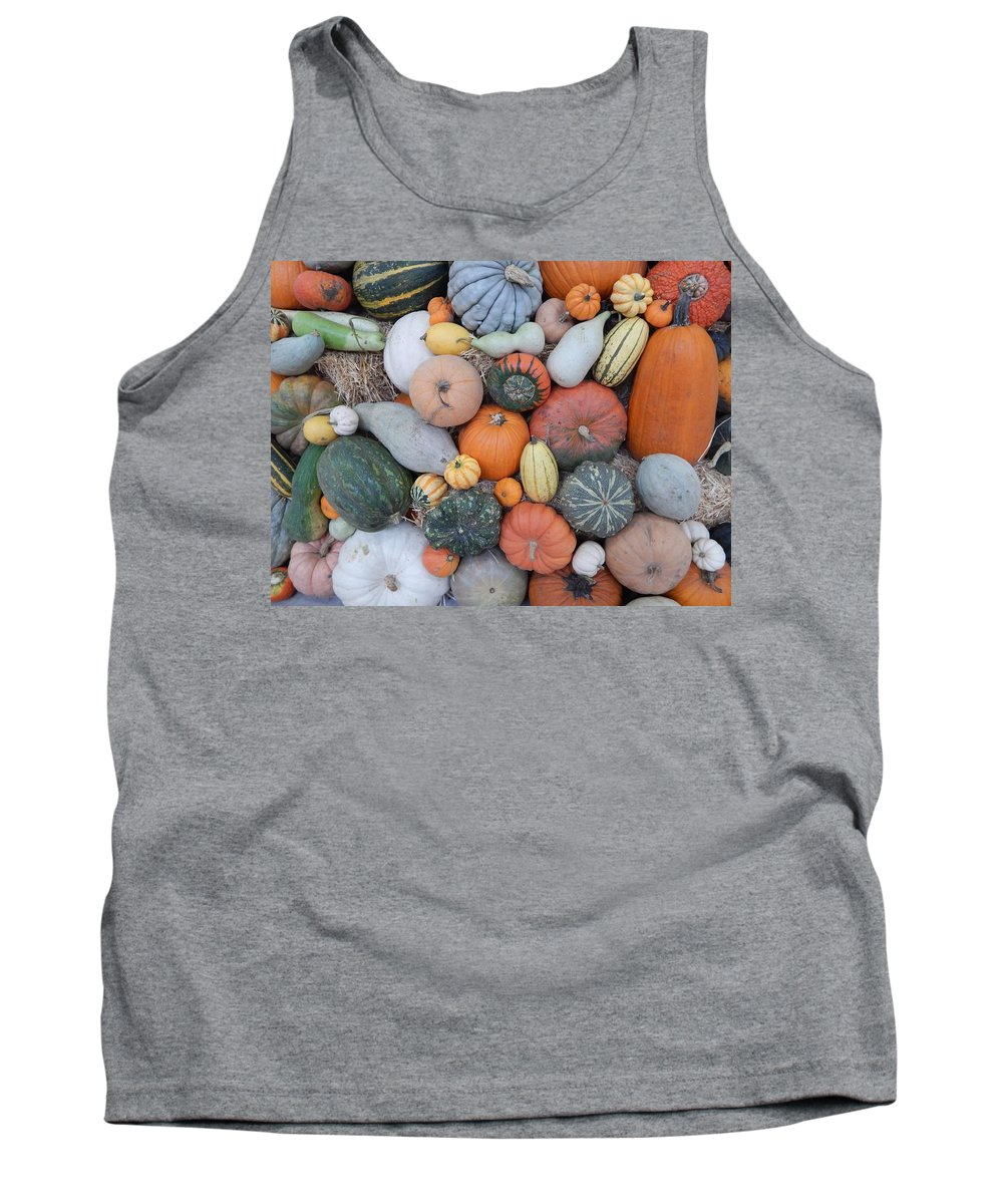 Produce Tank Top featuring the photograph Heirlooms On Display #3 by Glen Faxon