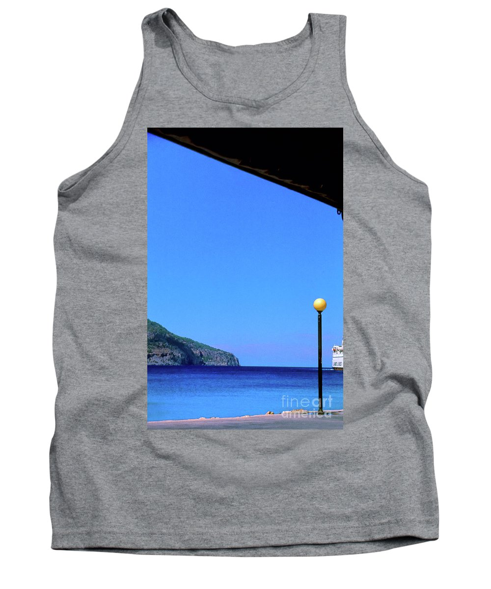 Hellenic Tank Top featuring the photograph Hellenic Dream by Silvia Ganora