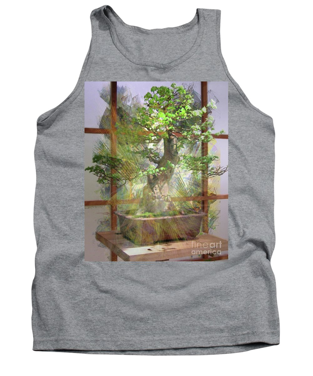 Hidden Treasures Tank Top featuring the digital art Hidden Treasures by John Beck