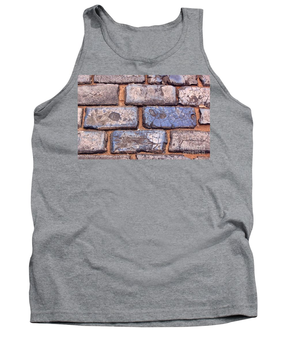 Street Tank Top featuring the photograph Hit The Bricks by Debbi Granruth