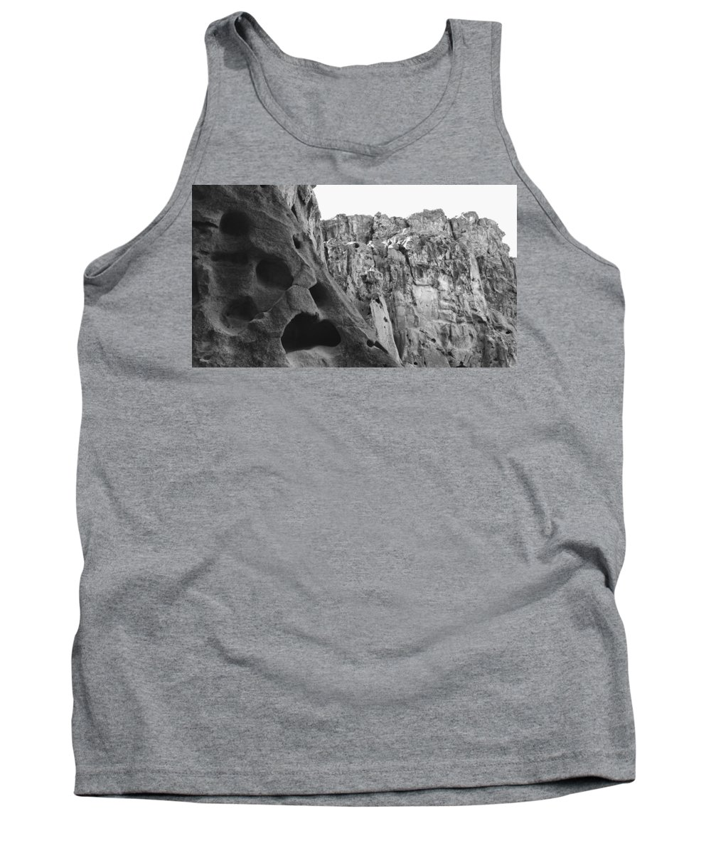 Mojave Tank Top featuring the photograph Hole In The Wall by Joel Pearman