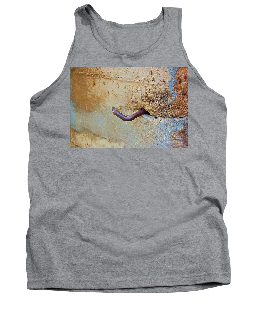 Metal Tank Top featuring the photograph Hook by Debbi Granruth