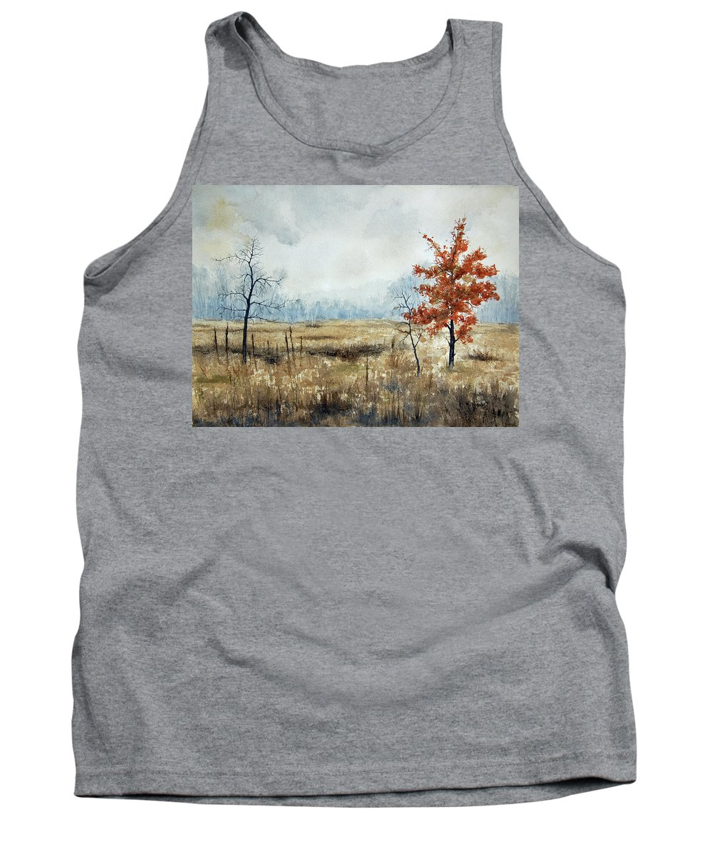 Hope Tank Top featuring the painting Hope by Mary Tuomi