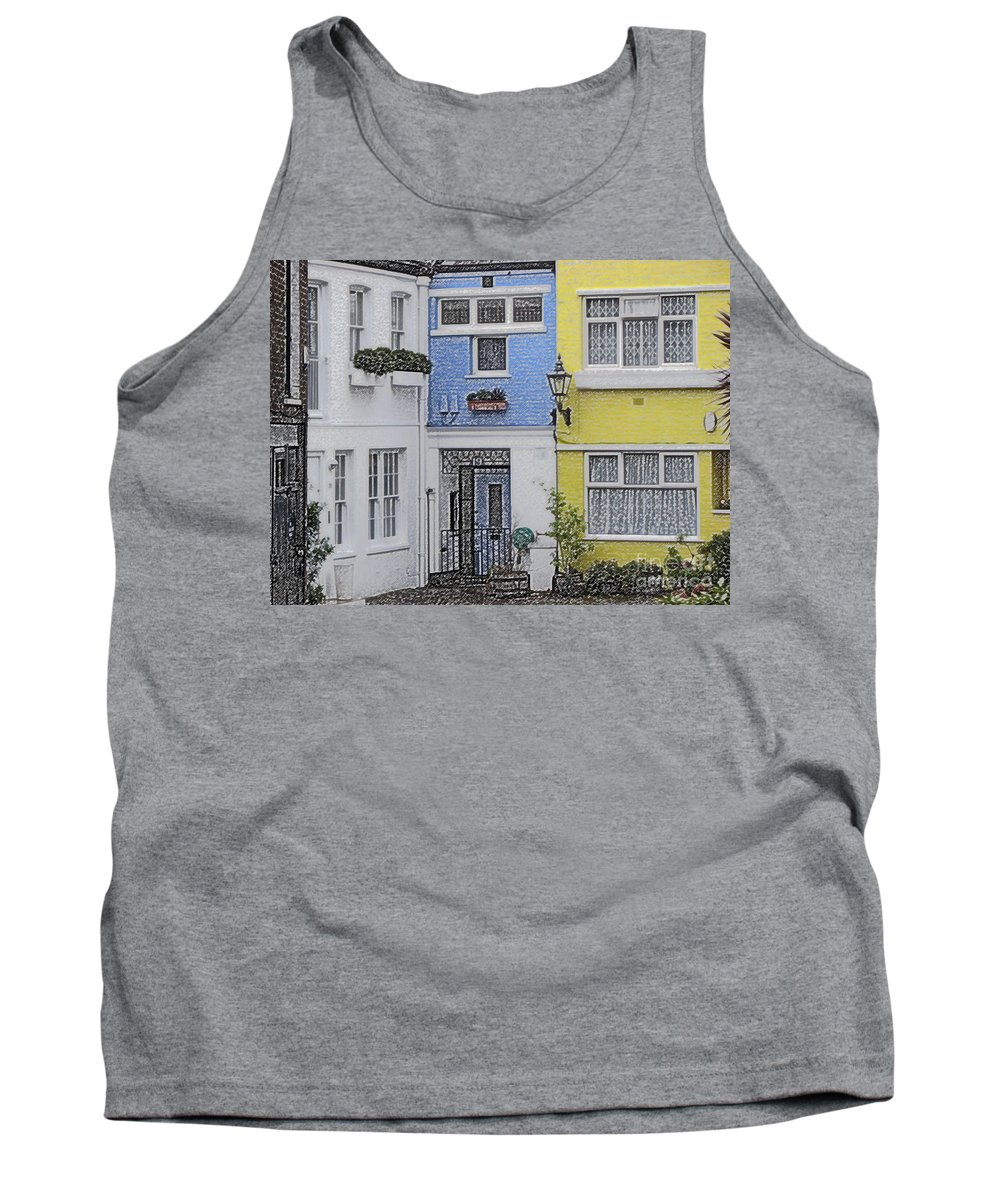 House Tank Top featuring the photograph Houses by Amanda Barcon
