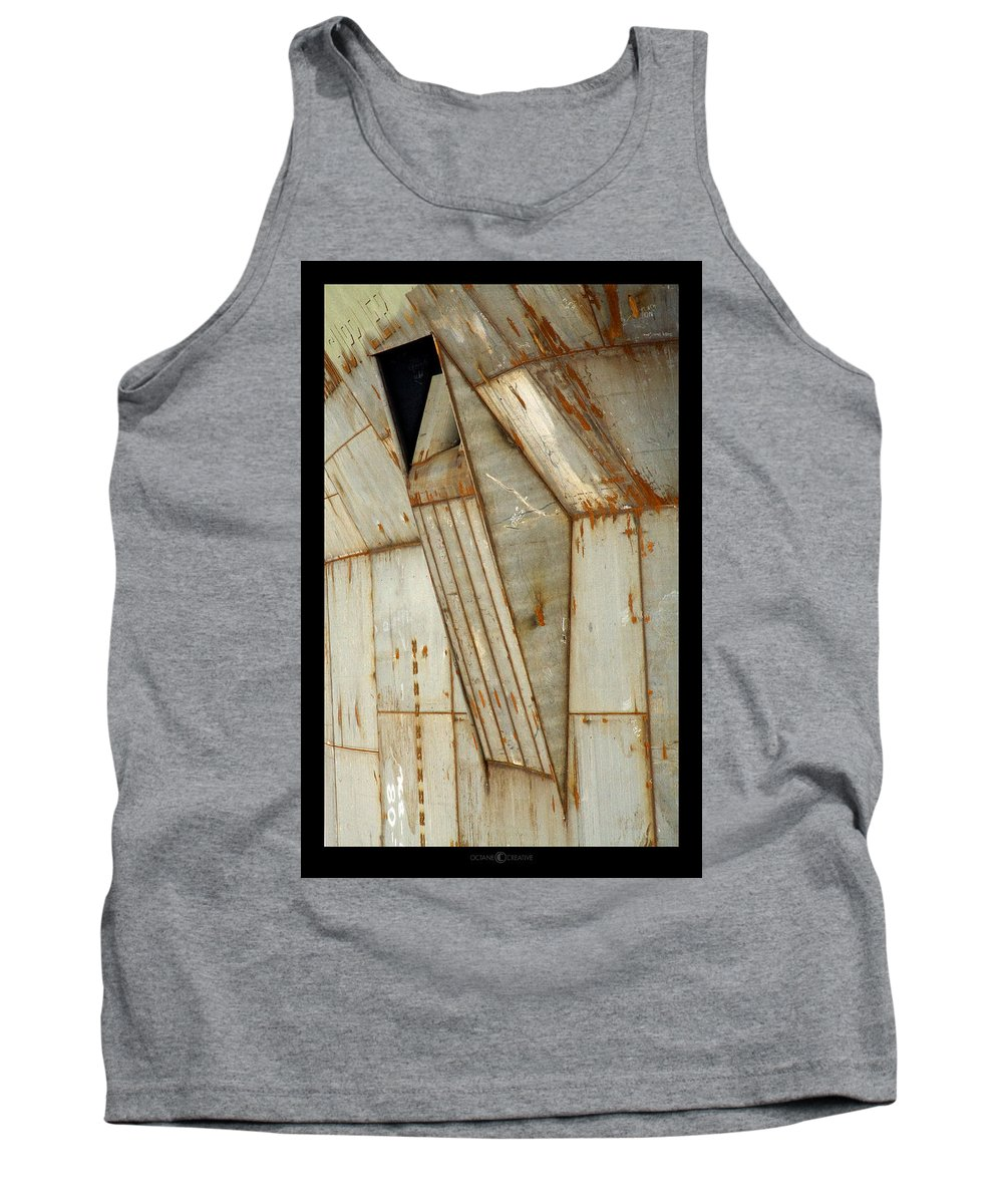 Hull Tank Top featuring the photograph Hull Detail by Tim Nyberg