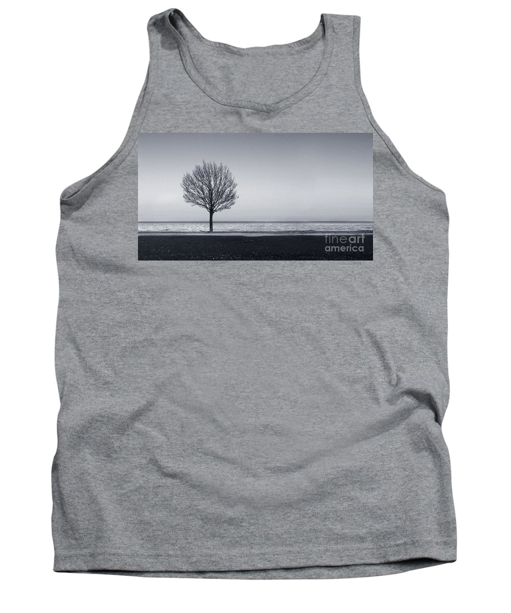 Tree Tank Top featuring the photograph I Didnt Hear You Leaving by Dana DiPasquale