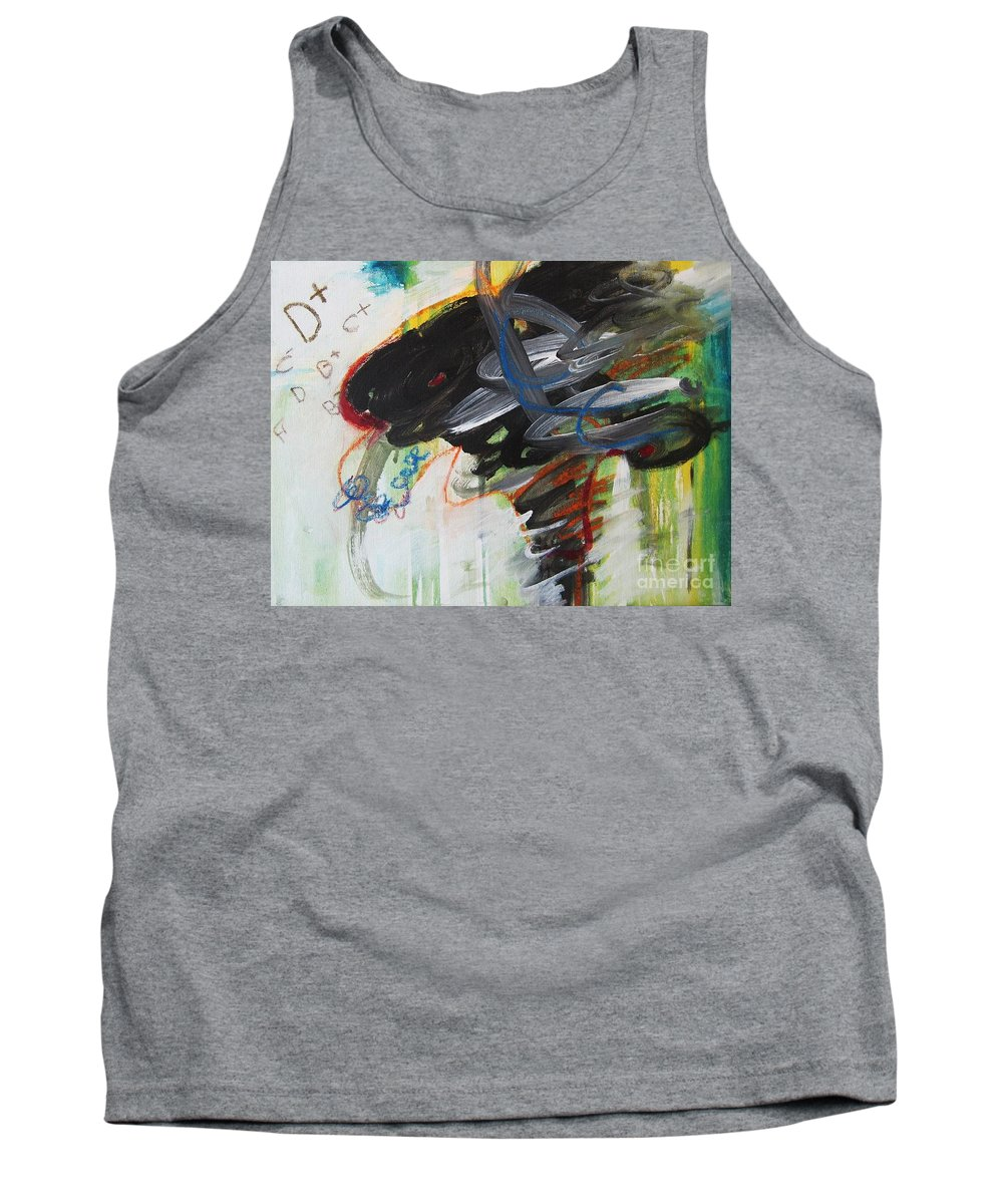 Abstract Paintings Paintings Abstract Art Paintings Tank Top featuring the painting I Got D by Seon-Jeong Kim