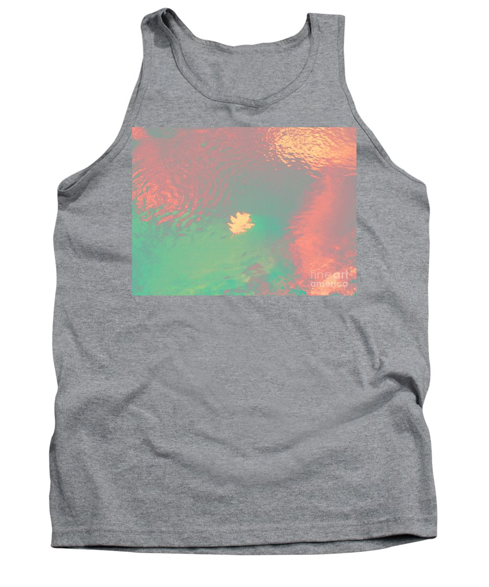 Abstract Tank Top featuring the photograph I'll Be There For You by Sybil Staples