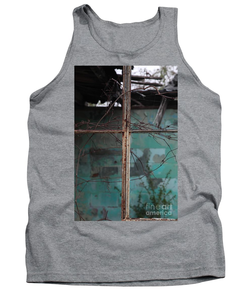 Windows Tank Top featuring the photograph Imposition by Amanda Barcon
