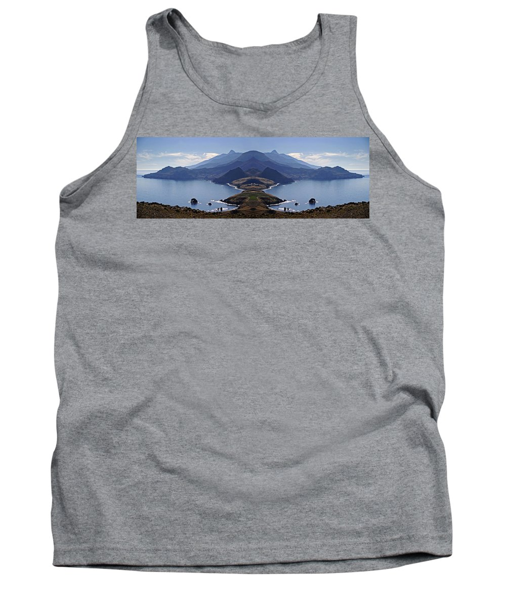 Atlantis Tank Top featuring the photograph In Search Of Atlantis by Casper Cammeraat