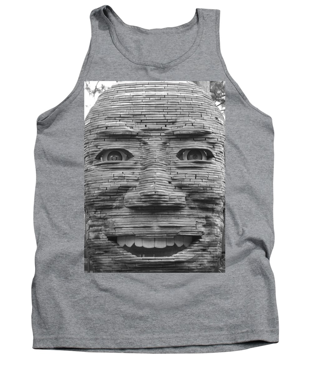 Architecture Tank Top featuring the photograph In Your Face by Rob Hans