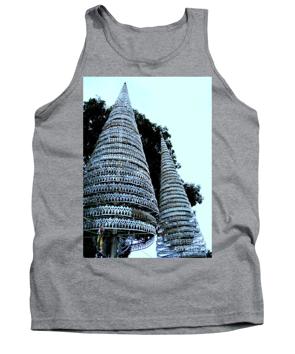 Cambodia Tank Top featuring the photograph Independence Park 3 by Randall Weidner