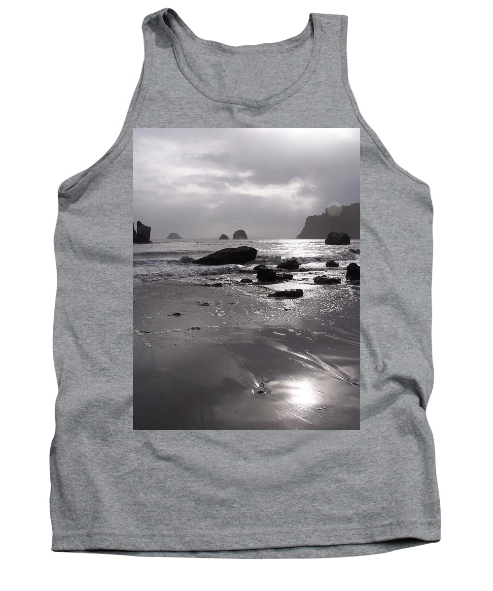 Beach Tank Top featuring the photograph Indian Beach by Gale Cochran-Smith