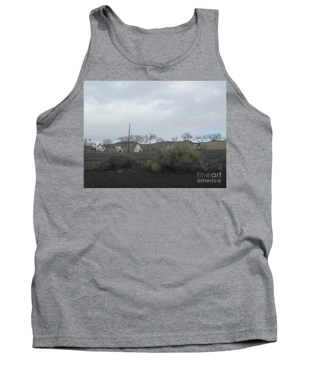 Indian Tank Top featuring the photograph Indian Tents by Frederick Holiday