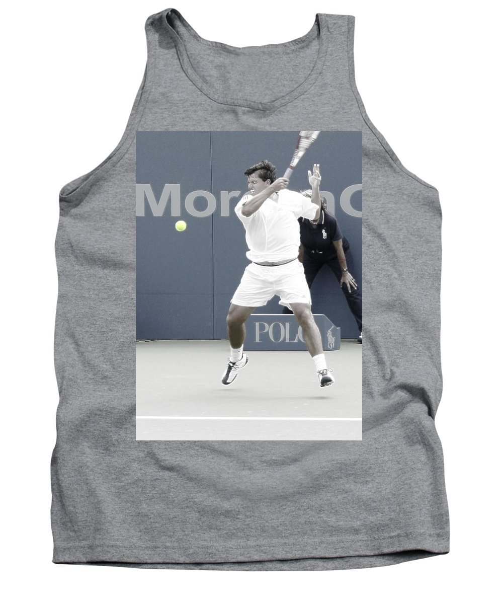 Taylor Dent Tank Top featuring the photograph Intensity - Taylor Dent by Steven Sparks
