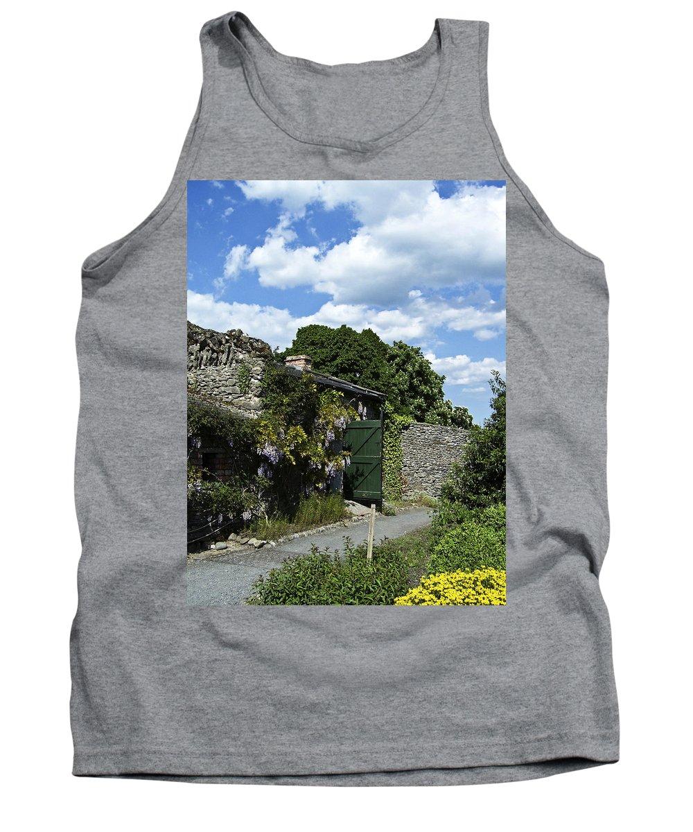 Irish Tank Top featuring the photograph Irish Garden County Clare by Teresa Mucha