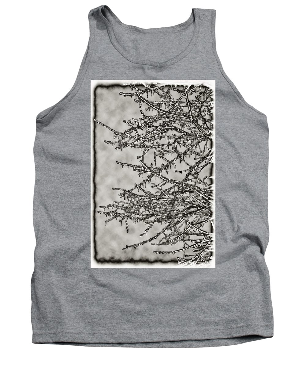 Ice Tank Top featuring the photograph Jack Frost by Bill Cannon
